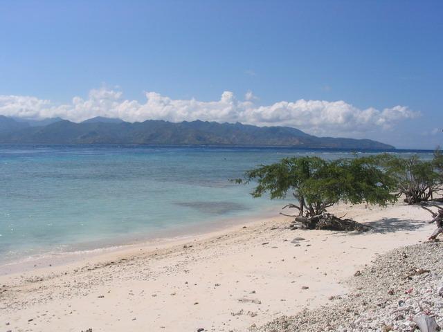 пляж Ломбок (Индонезия)